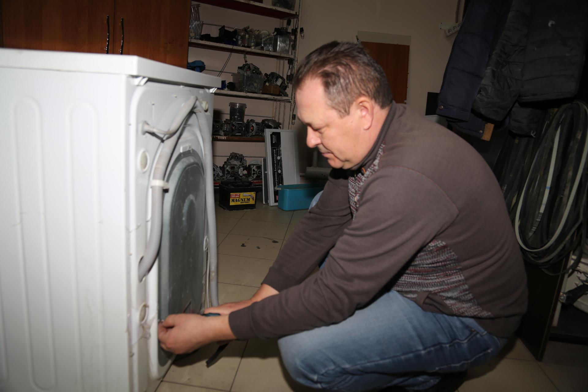 Замена тэна на стиральной машине