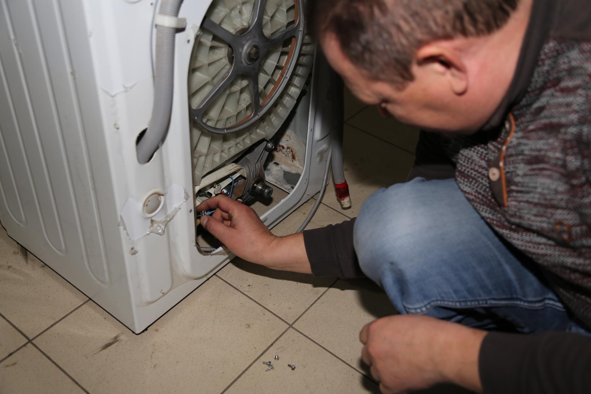 Находим тэн стиральной машины