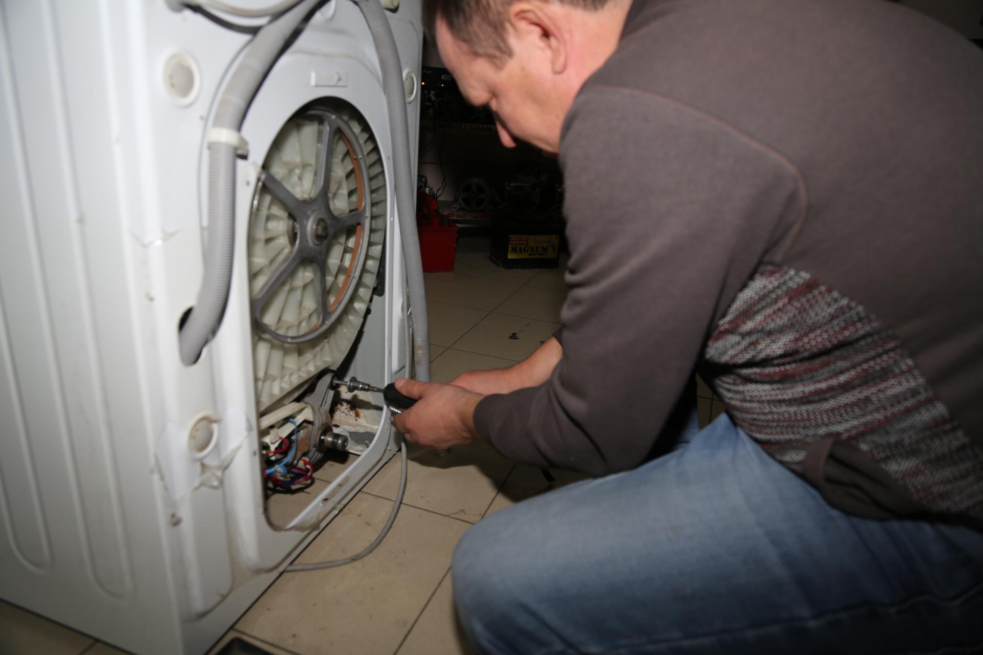 Установка нового тэна в стиральную машину
